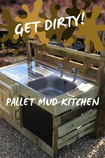 Dirty Fun In The Sun Pallet Mud Kitchen