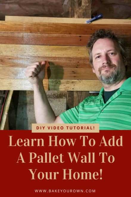 Learn How To Add Pallet Walls Or Backdrops Easily!