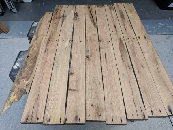Must-see Herringbone Pallet Dining Table Pallet Desks & Pallet Tables