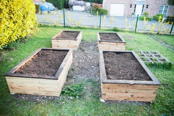 Raised Planter Beds are an excellent solution to poor soil. Trying to amend your entire yard is challenging; managing a small area is easy.