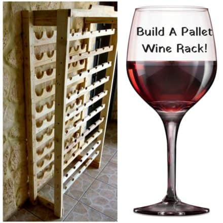 Stately Wine Rack Using Pallet Wood/ Porte Bouteilles En Palettes