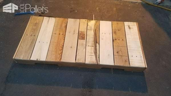 Here's how I started my Pallet Tables.