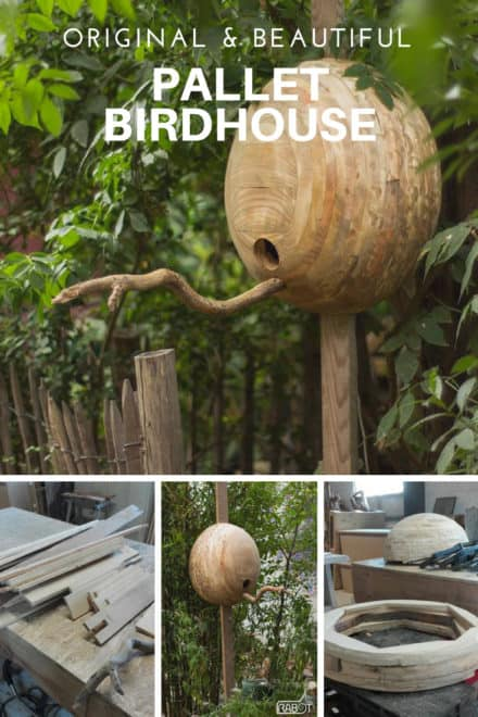 Original & Beautiful Pallet Birdhouse