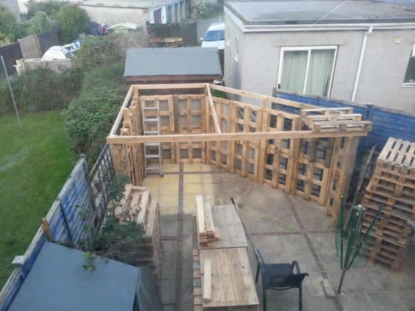 Pallet Workshop Backyard Shed