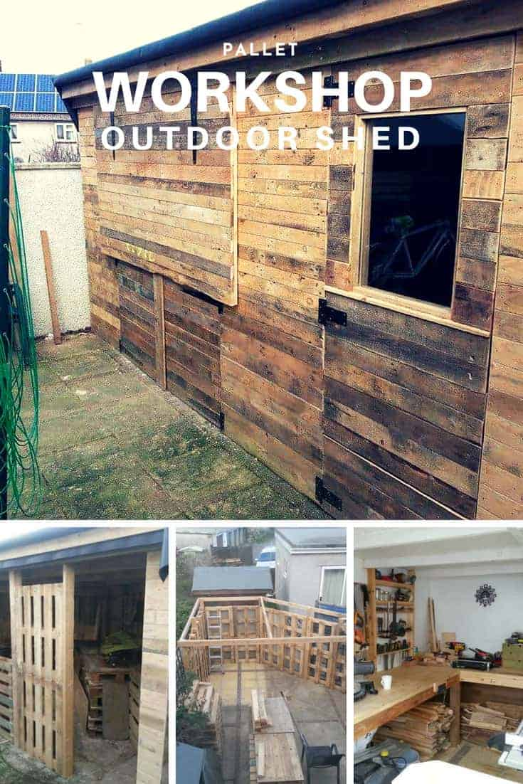 Pallet Workshop Backyard Shed 1001 Pallets