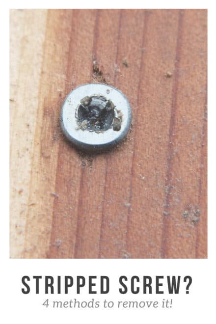 4 Methods to Remove a Stripped or Broken Screw