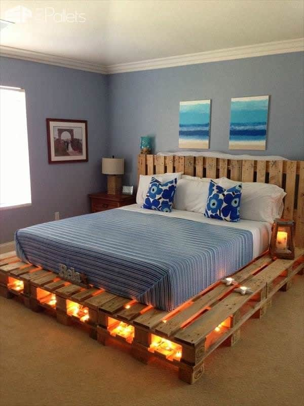 How to Craft a Pallet Bed