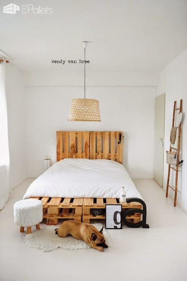 Pallet Bed: How to Craft It? • 1001 Pallets