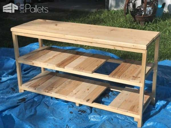 Custom Pallet Bathroom Vanity