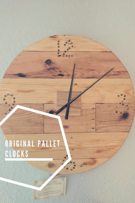 Original Pallet Clocks