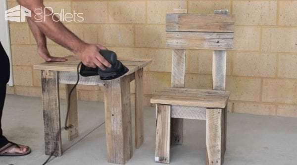 Incredible Diy Pallet Kids Table Chair 1001 Pallets Creativecarmelina Interior Chair Design Creativecarmelinacom