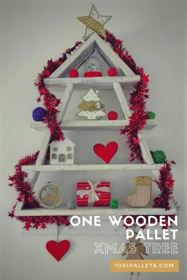 Wood Pallet Christmas Tree.The Best Selection Of Christmas Trees From Upcycled Pallets