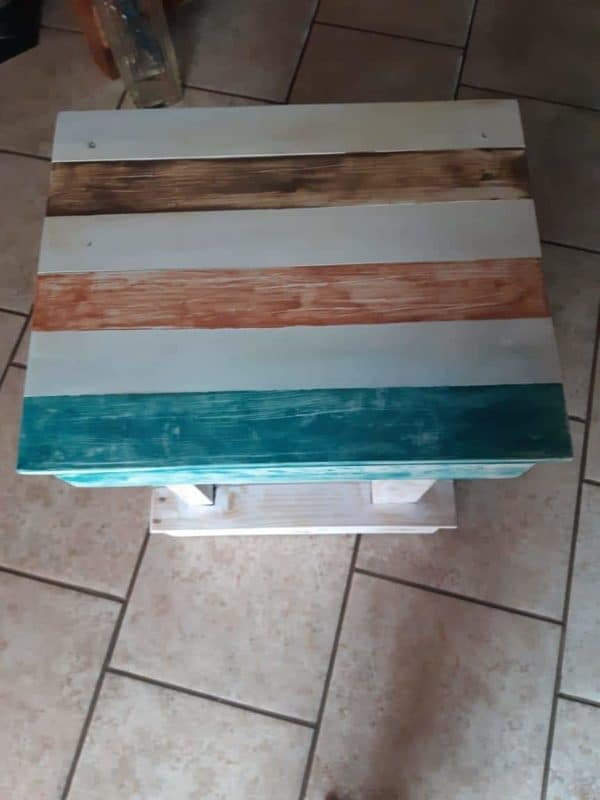 Pallet Bedside Table Pallet Furniture