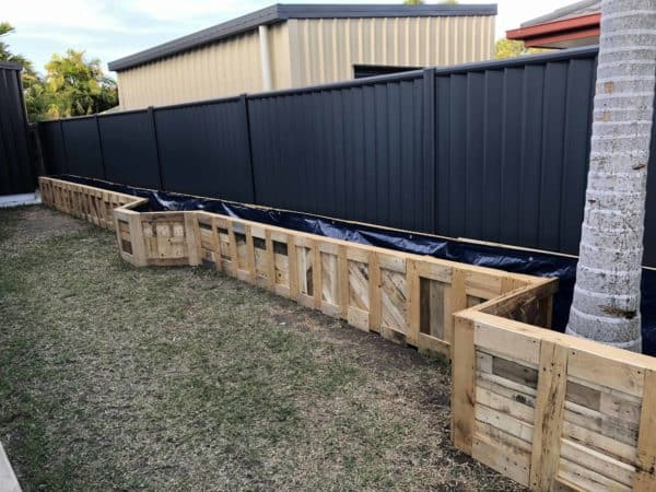 Pallet Garden Raised Bed Pallet Planters & Compost Bins