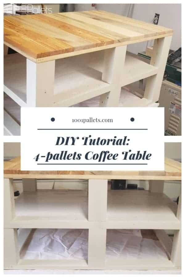 Diy: 4-pallets Coffee Table