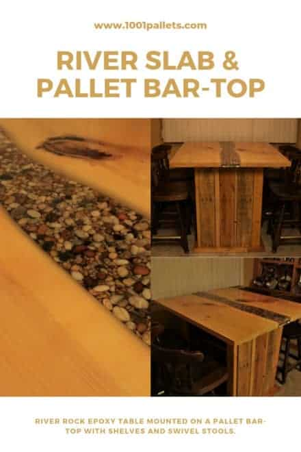 River Slab & Pallet Bar-top
