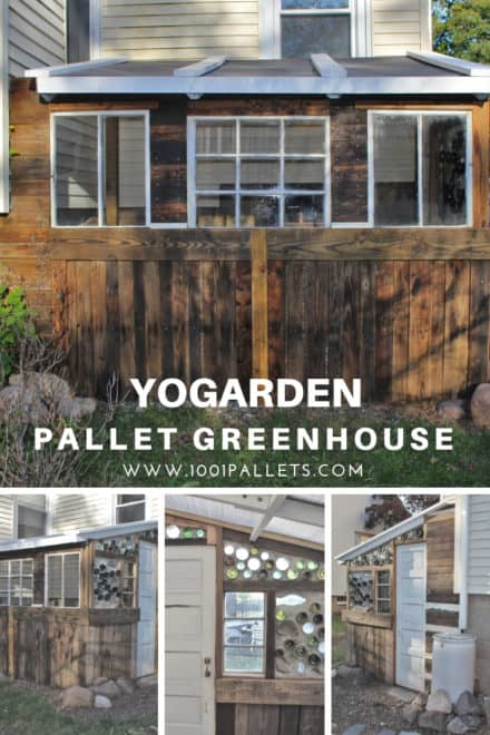 Yogarden Pallet Greenhouse