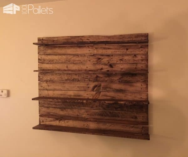 2 Bookshelf Ideas with Pallet for Your Dorm