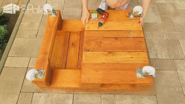 Diy Easy & Cheap Pallet Coffee Table