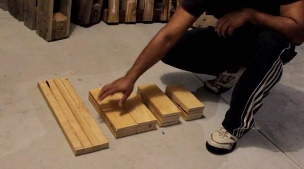 Diy: Wood Pallet Lantern DIY Pallet Tutorials DIY Pallet Video Tutorials Pallet Lamps & Lights