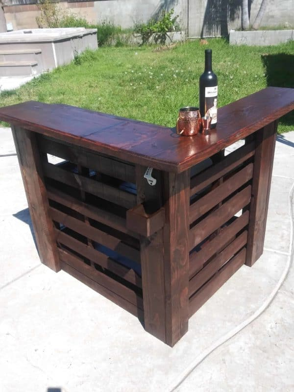 Fully Loaded Pallet Bar Pallet Bars