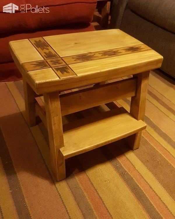 Pallet Staircase Stool Pallet Staircases
