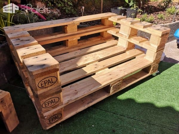 Euro Pallet Garden Set Lounges & Garden Sets