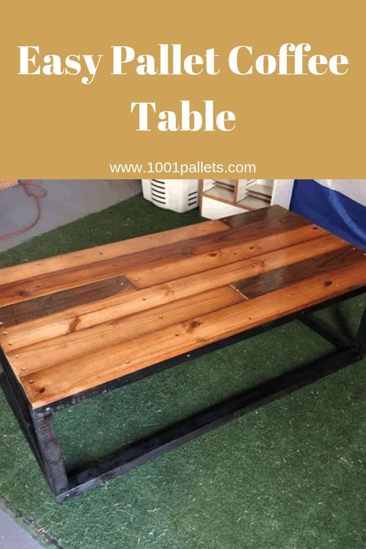 Easy Coffee Table.Easy Pallet Coffee Table 1001 Pallets