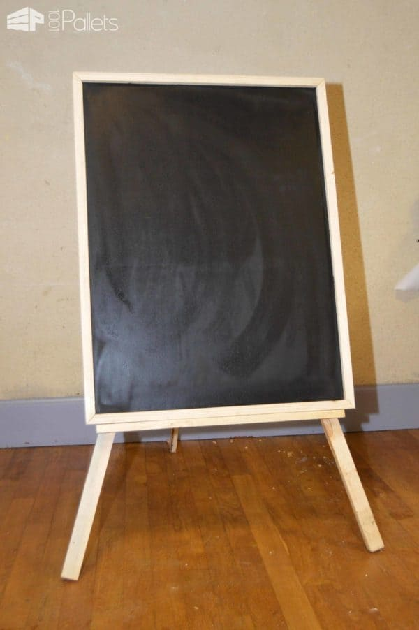 Pallet Easel for Slate Board Pallet Home Accessories