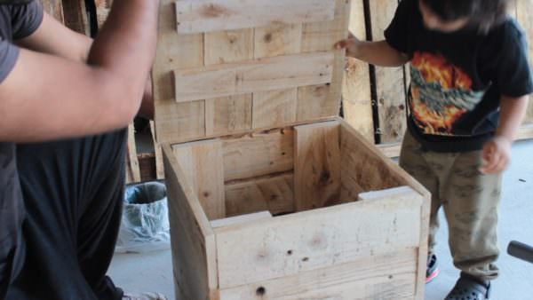 Diy - Pallet Dice Sitting Stool Pallet Benches, Pallet Chairs & Stools