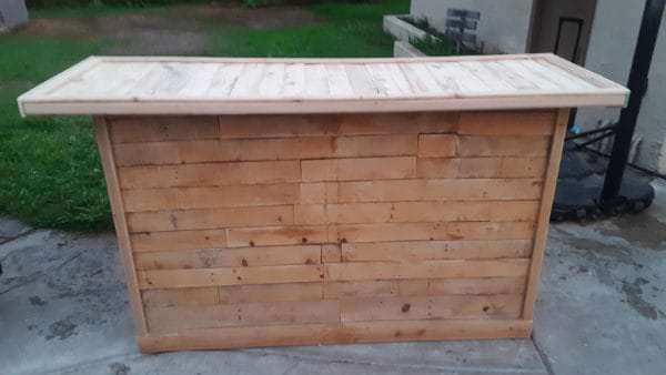 Rustic Pallet Bar Pallet Bars