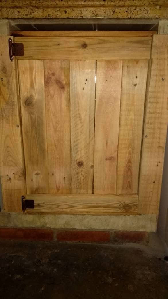 Our Pallet Kitchen Doors Pallet Walls & Pallet Doors