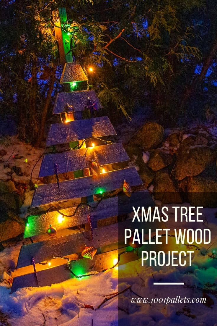 The Best Selection Of Christmas Trees From Upcycled Pallets 1001 Pallets