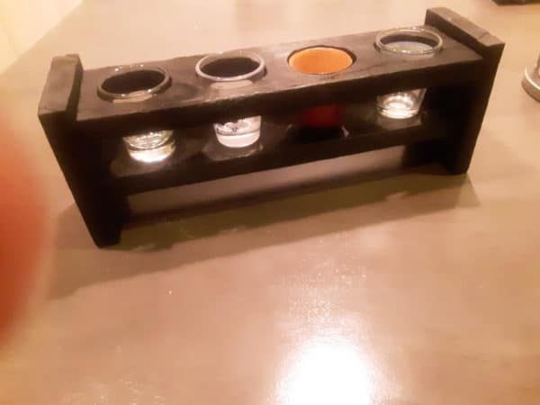 Terry's Pallet Shot Glass Holder Pallet Home Accessories