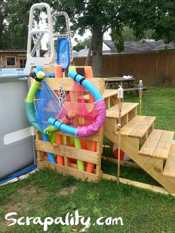 Pallets Ideas for Decorating Your Pool Area Lounges & Garden Sets