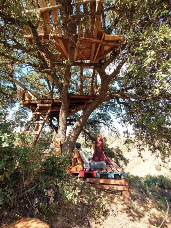 Pallet Treehouse Pallet Sheds, Cabins, Huts & Playhouses