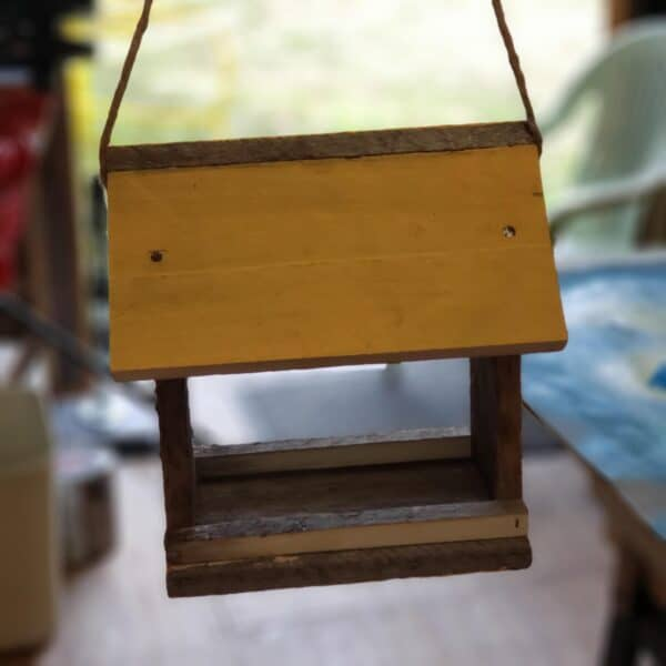 A Couple of Pallet Bird Feeders Animal Pallet Houses & Pallet Supplies
