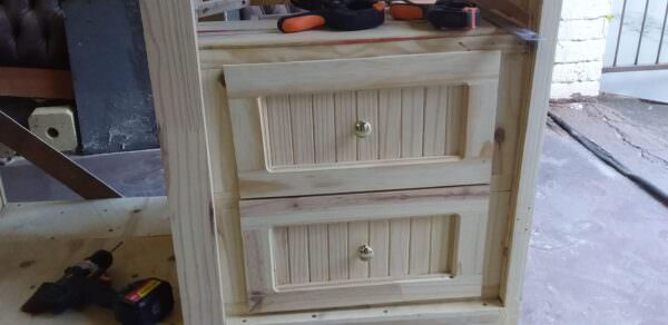 How I Made This Pallet Wardrobe Pallet Cabinets & Wardrobes