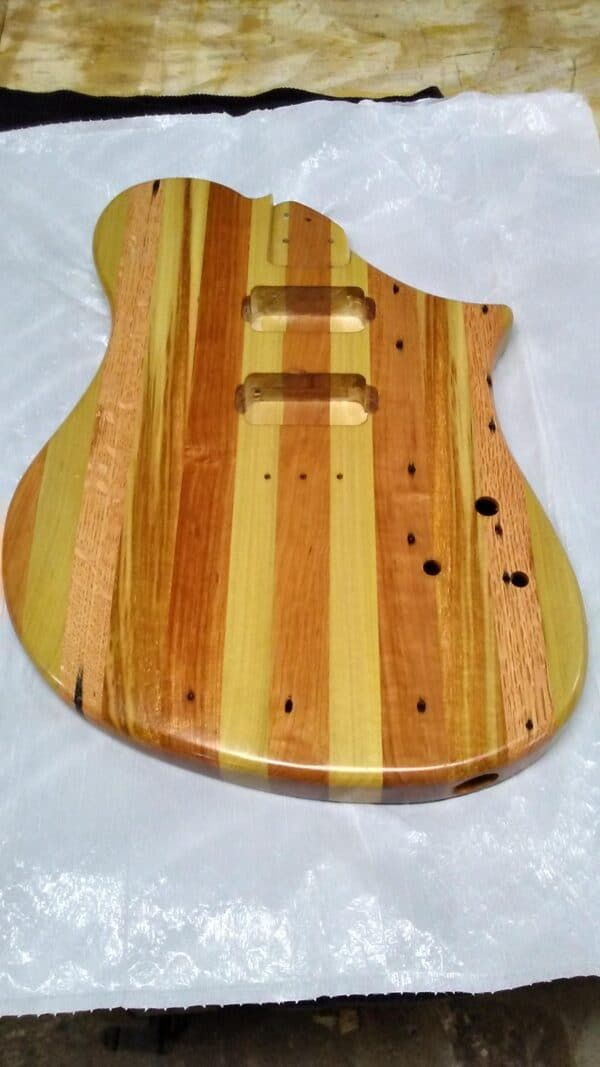 Building A Pallet Wood Electric Guitar Other Pallet Projects