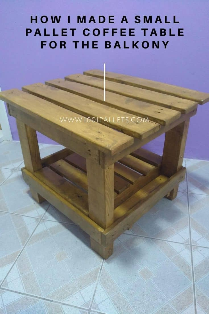 Pallet Coffee Table Diy Plans 1001 Pallets