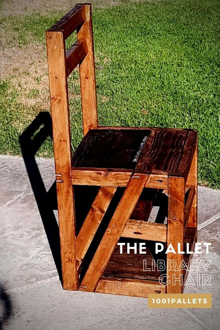 Discover Hundred Of Chairs Made From Repurposed Pallets 1001 Pallets