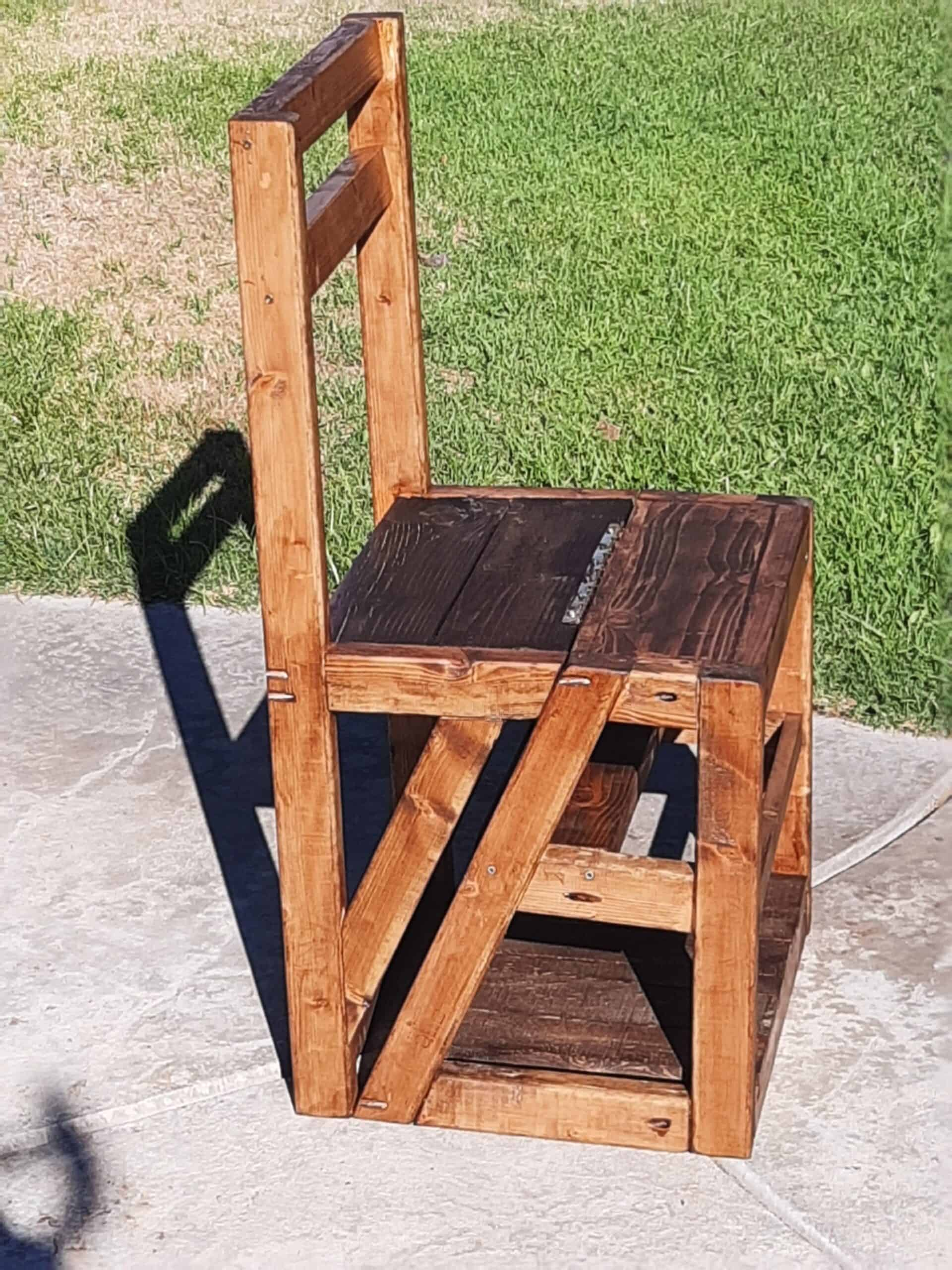 The Pallet Library Chair
