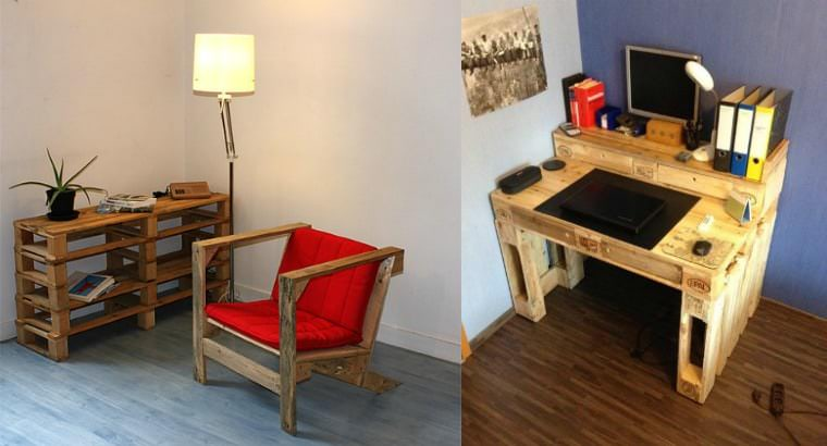 What to Do with Wood Pallets? More than 38 Original Creations! Other Pallet Projects