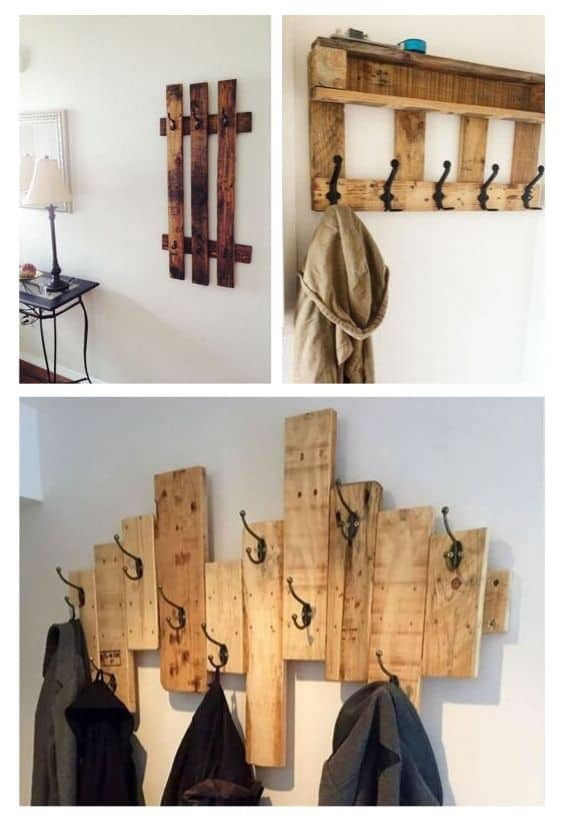 Recycling Wood Pallets: 10 Ideas to Dress a Wall