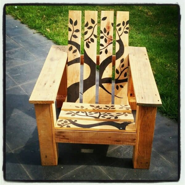 Re-pallet Beach Chair Pallet Benches, Pallet Chairs & Stools