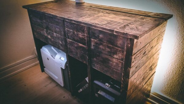 Making a Printer Cabinet from Pallets! Pallet Cabinets & Wardrobes