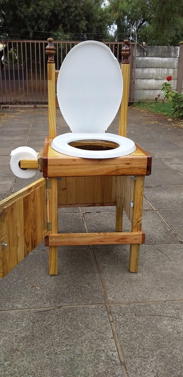 How I Made This Toilet Seat With One Wood Pallet Pallet Benches, Pallet Chairs & Stools
