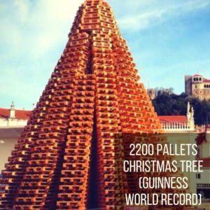 2200 Pallets Christmas Tree (Guinness World Record)