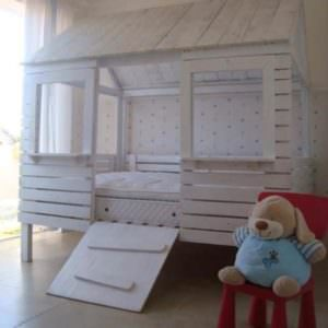 child bed hut