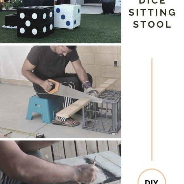 Diy - Pallet Dice Sitting Stool